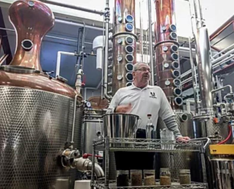 Blaum Brothers Distillery and tour